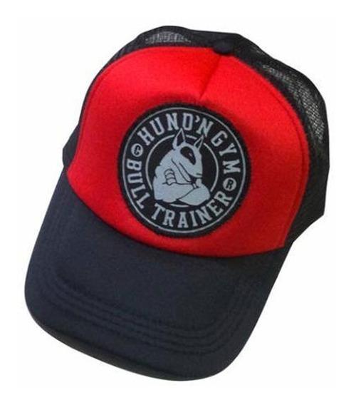 Gorras Trucker Hf ® Negro Y Rojo En Stock Originales!!