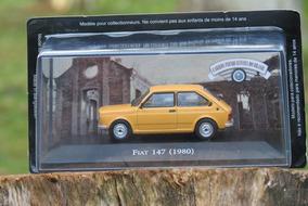 Miniatura Fiat 147 Ano 1980 Edição 148 Cib