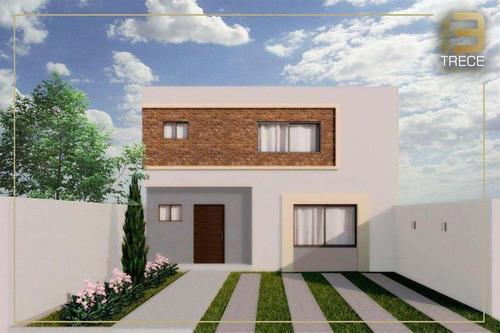 Imagen 1 de 13 de Casa En Lomas De La Rioja De Dos Pisos En Buen Precio