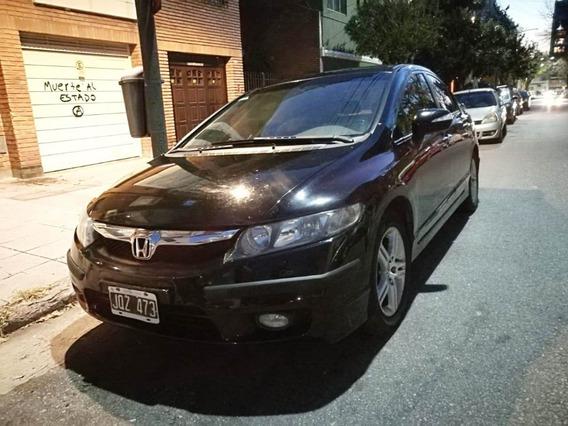 Honda Civic Exs 1.8 Manual Nafta 2011 Negro