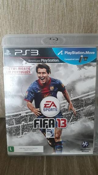 Game Ps3 Fifa 13 - Mídia Física Original