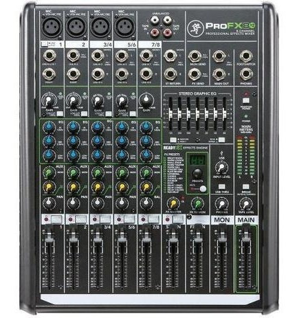 Mesa De Som Com Usb Rec Profx-8 V2 - Mackie