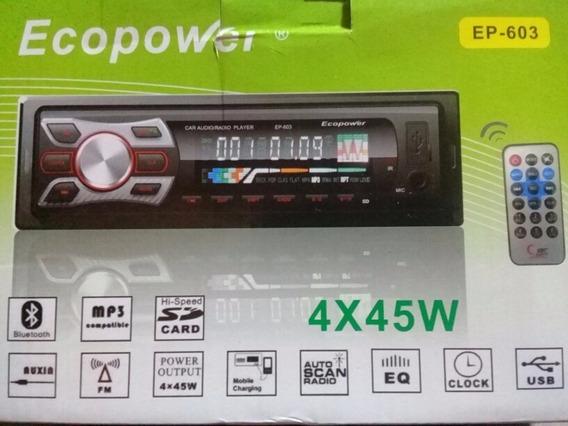 Radio Ecopower Ep-603 -sd -bluetooth- Usb-fm-
