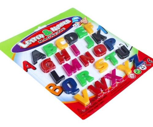 Set De Letras Magneticas Infantiles (abecedario Completo)
