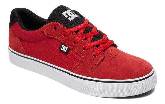 Zapatilla Anvil M Shoe Rojo Dc Shoes