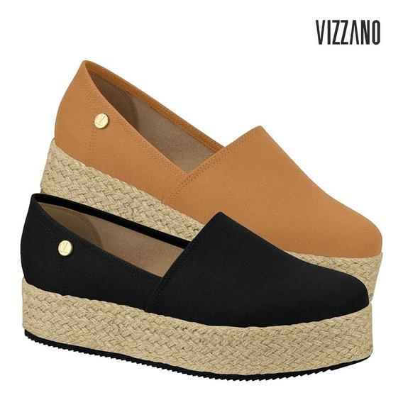Tênis Feminino Slip On Flatform Vizzano Original