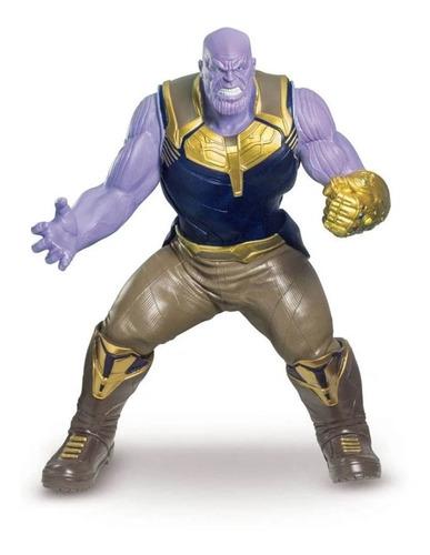 Boneco Thanos Gigante Guerra Infinita Marvel 50 Cm Premium