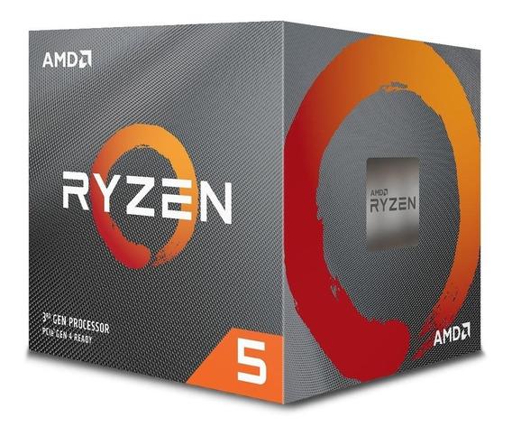 Processador Amd Ryzen 5 3600x Cache 32mb 3.8ghz (4.4ghz Max Turbo) Am4 Sem Vídeo - 100-100000022box