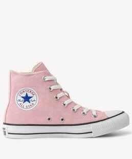 Tênis Converse Chuck Taylor All Star Rosa Cano Alto