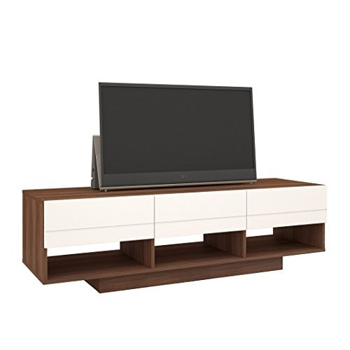 Nexera 105140 Sequence Tv Stand 60 Inch Walnut