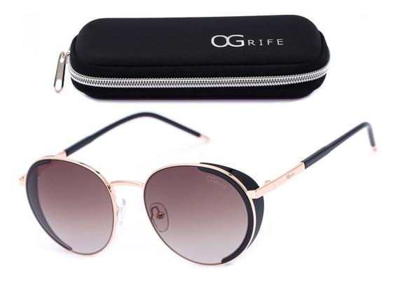 Oculos Ogrife Solar Feminino Og 1194-c Proteção Uv Original