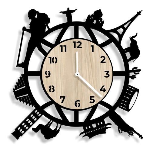 Reloj De Pared 3d