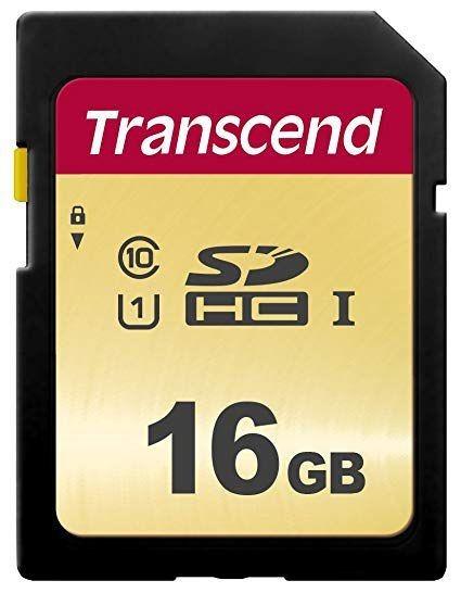 Cartão Memória Sdhc 16gb Transcend Cl10 Uhs-i U1 95mb/s C/nf