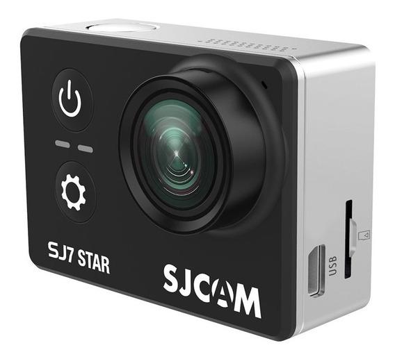 Câmera Action Cam 4k Wifi Sjcam Sj7 Star Preto Original