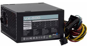 Fonte Atx 500w Real - Aerocool Vx-500