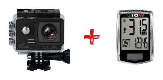 Câmera Sjcam Sj5000 Wifi Full Hd 1080p + Velocimetro S/ U10w