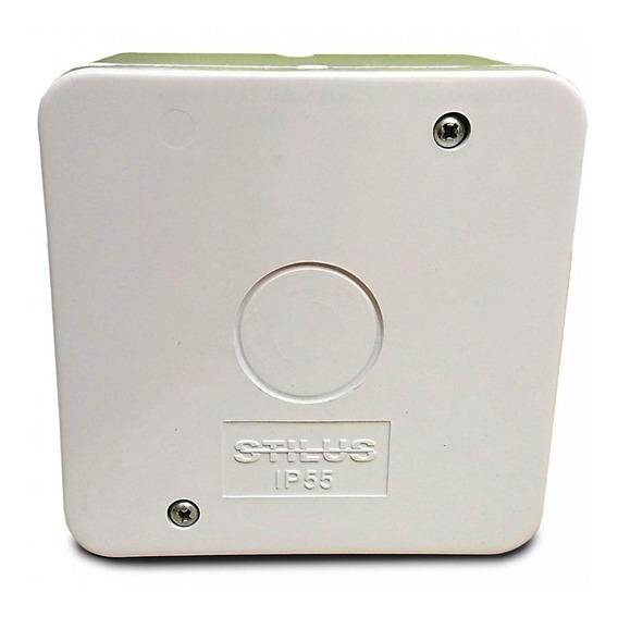 10 Caixa Proteção Organizadora Proteção Conectores Cftv Ip55
