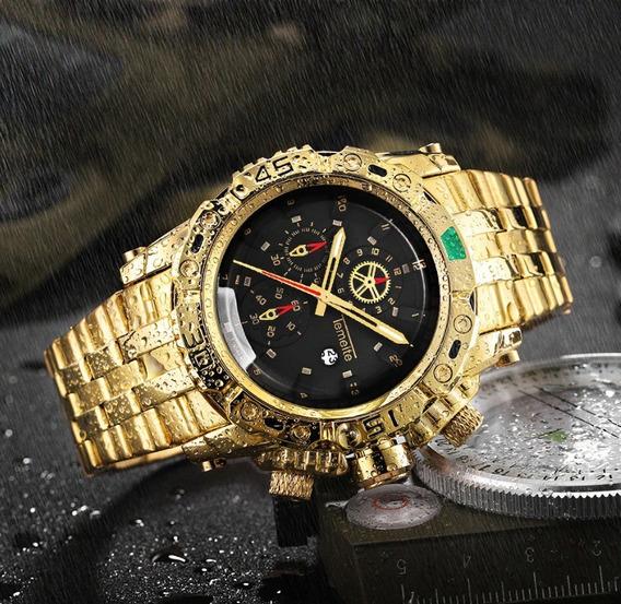 Relógio Masculino Temeite Quartz 3d Original Prova D