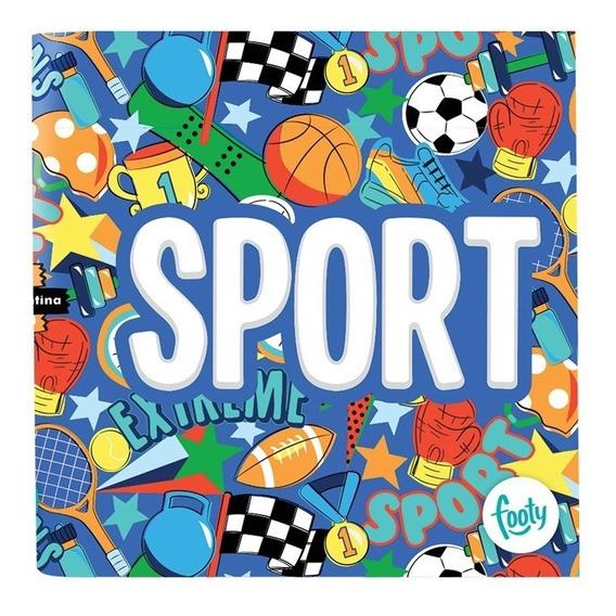 Carpeta Escolar Nº3 Sport Nº 3- Footy Oficial