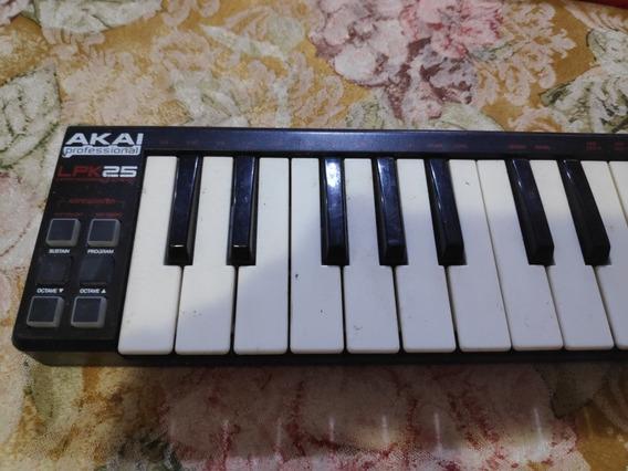Teclado Musical Akai Professional Lpk25 - No Estado