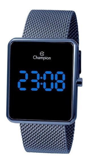 Relogio Digital Ch40080a Champion Azul