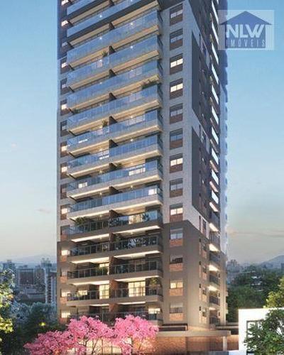 Imagem 1 de 21 de Apartamento Com 1 Dormitório À Venda, 46 M² Por R$ 734.001,00 - Campo Belo - São Paulo/sp - Ap2144