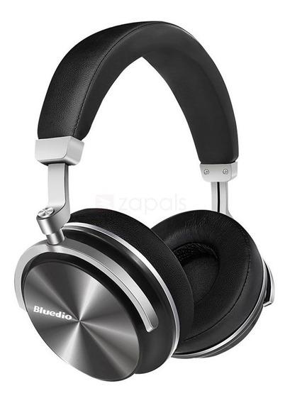 Fone Headphone Bluedio T4s Bluetooth Sem Fio Ans Preto T4s