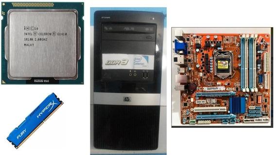 Computador Montado Itautec 4265 Celeron 2.60 Ghz Ddr3 4 Gb