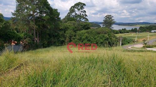 Belo Terreno Em Condomínio Na Represa De Itupararanga - Te0249