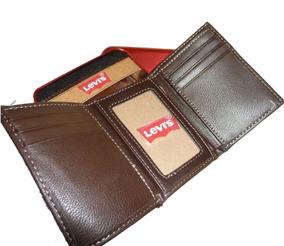 417603e11 Carteira Levi S Marrom - Calçados, Roupas e Bolsas no Mercado Livre ...