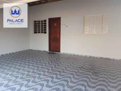 Casa Com 2 Dormitórios À Venda, 92 M² Por R$ 180.000 - Residencial Santo Antônio - Piracicaba/sp - Ca0896
