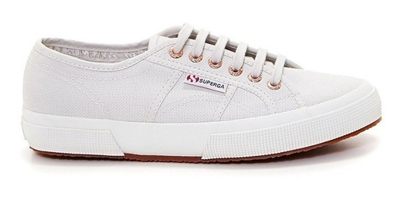 Zapatilla Superga Original 2750 Cotu - Lt Grey/rose Gold