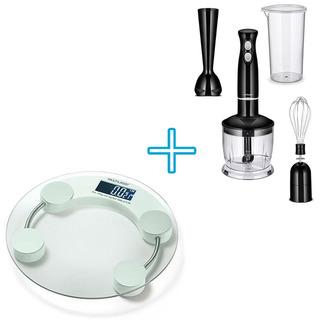 Acessorios Para Cozinha Com Mixer Com Varias Peças + Balança