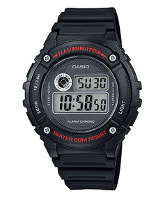 Relógio Casio Digital W-216h-1avdf - Frete Grátis