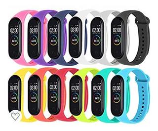 Correas De Colores Smart Band Xiaomi Mi Band 3 Y 4