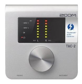 Placa Audio Zoom Tac-2 Thunderbolt Audio Placa ®