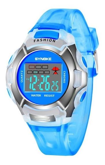 Relógios Infantil Digital Led Sports