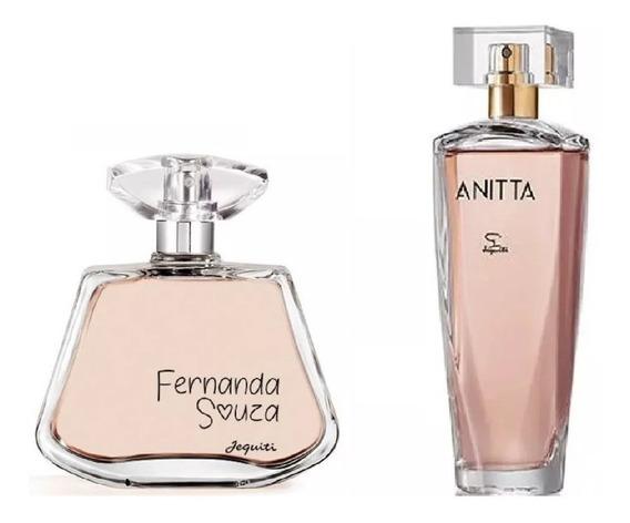 Combo Perfumes Femininos Jequiti : Fernanda Souza + Anitta