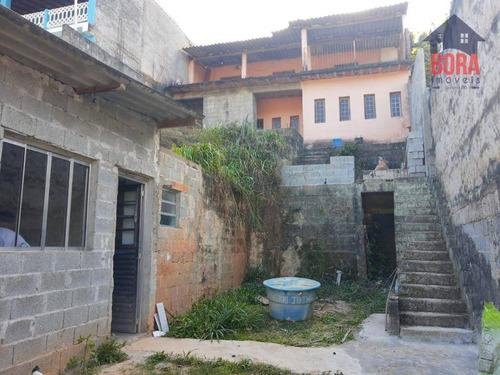 Casa Com 3 Dormitórios À Venda, 150 M² Por R$ 190.000 - Jardim Sandra - Mairiporã/sp - Ca0526