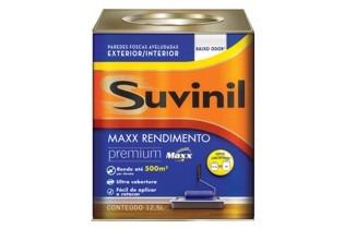 Pintura Suvinil Max Rendimiento Blanco 12.5 Premium