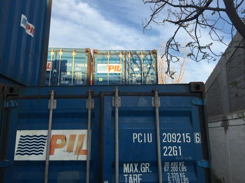 Contenedores Maritimos Containers Usados 20/40 Bs As Oeste.