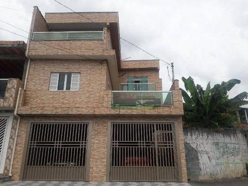 Imagem 1 de 18 de Casa Com 4 Dormitórios À Venda, 182 M² Por R$ 446.000 - Parque Das Américas - Mauá/sp - Ca5287