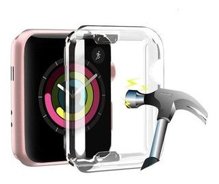 Funda Flexible Case Pantalla Completa Apple Watch 40 Y 44 Mm