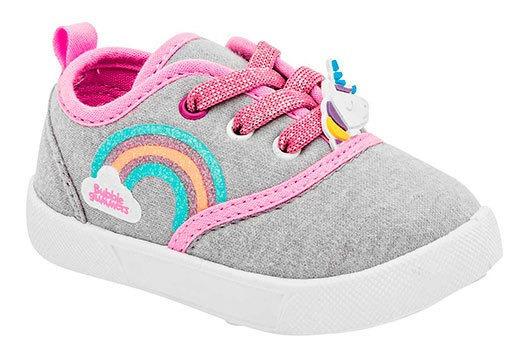 Zapato Casual Broche Unicornio 90270dtt Niña Liso