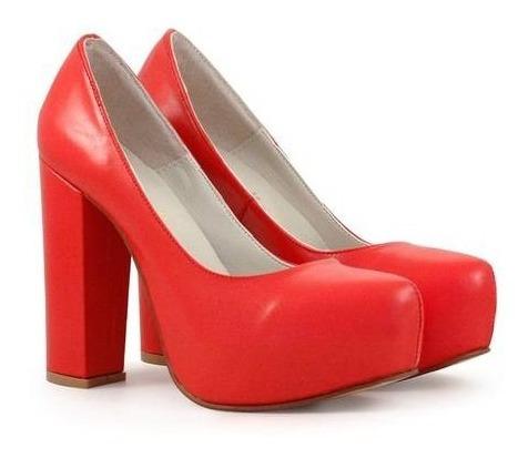 Zapatos Rojos Batistella Talle 35