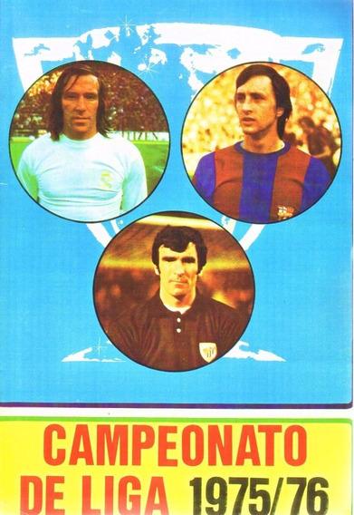 Álbum Da Liga Espanhola Temporada 1975-1976 - Scaner(05)