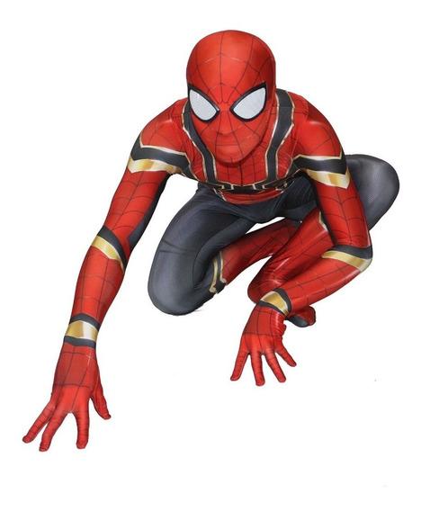 Disfraz Traje Spiderman Homecoming Iron-spider Cosplay Niño!