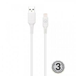 Cabo Lightning Iwill Hard Tpe 2m | Mfi Chip Apple - Branco