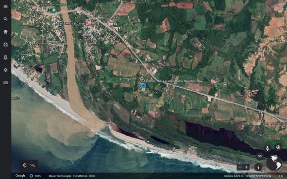 Terreno Residencial Con Vista Al Mar De 1200m2