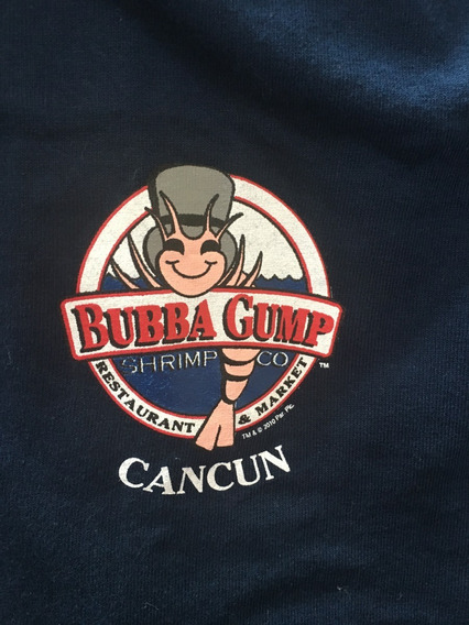 Playera Bubba Gump Co.